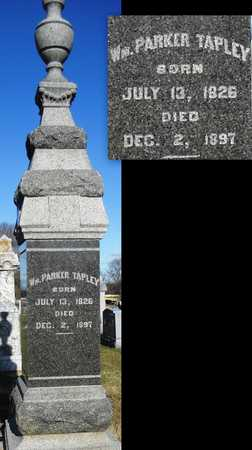 TAPLEY, WILLIAM PARKER - Pike County, Missouri | WILLIAM PARKER TAPLEY - Missouri Gravestone Photos