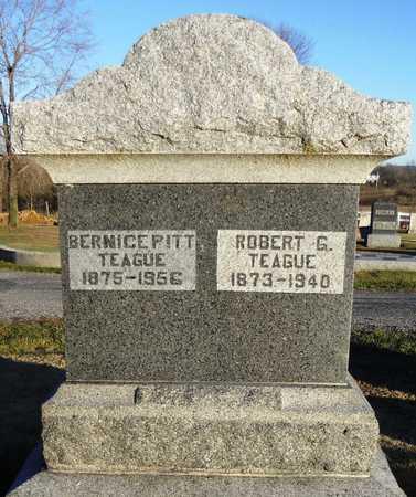 TEAGUE, ROBERT GOLDBETTER - Pike County, Missouri | ROBERT GOLDBETTER TEAGUE - Missouri Gravestone Photos