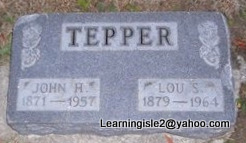 TEPPER, JOHN HUGH - Pike County, Missouri | JOHN HUGH TEPPER - Missouri Gravestone Photos