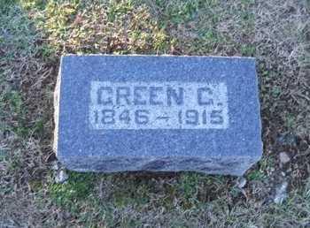 THOMPSON, GREEN G - Pike County, Missouri   GREEN G THOMPSON - Missouri Gravestone Photos
