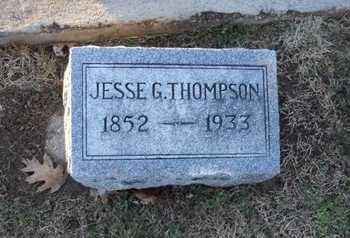 THOMPSON, JESSE GILBERT - Pike County, Missouri | JESSE GILBERT THOMPSON - Missouri Gravestone Photos