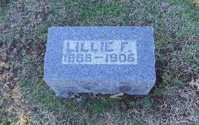 "THOMPSON, LILLIAN FRANK ""LILLIE"" - Pike County, Missouri 