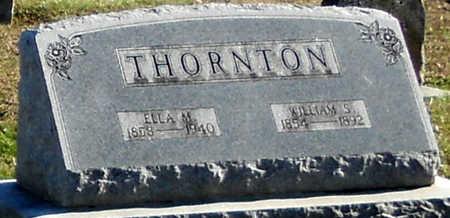 THORNTON, ELLA MORTON - Pike County, Missouri | ELLA MORTON THORNTON - Missouri Gravestone Photos