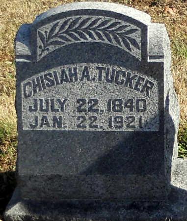 APPLEGATE TUCKER, CHISIAH - Pike County, Missouri | CHISIAH APPLEGATE TUCKER - Missouri Gravestone Photos