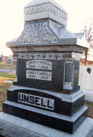 BENN UNSELL, SARAH JANE - Pike County, Missouri | SARAH JANE BENN UNSELL - Missouri Gravestone Photos