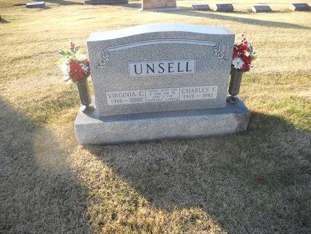 UNSELL, VIRGINIA C - Pike County, Missouri   VIRGINIA C UNSELL - Missouri Gravestone Photos