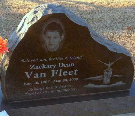 VAN FLEET, ZACHARY DEAN - Pike County, Missouri | ZACHARY DEAN VAN FLEET - Missouri Gravestone Photos