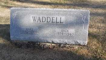WADDELL, MARY EMILY - Pike County, Missouri   MARY EMILY WADDELL - Missouri Gravestone Photos