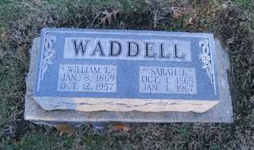 NICHOLS WADDELL, SARAH JOSEPHINE - Pike County, Missouri | SARAH JOSEPHINE NICHOLS WADDELL - Missouri Gravestone Photos
