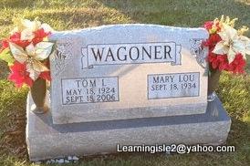WAGONER, TOM I - Pike County, Missouri | TOM I WAGONER - Missouri Gravestone Photos