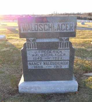 WALDSCHLAGER, JOHN FREDERICK - Pike County, Missouri | JOHN FREDERICK WALDSCHLAGER - Missouri Gravestone Photos