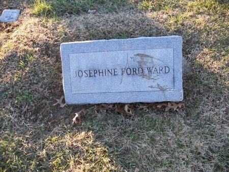 WARD, JOSEPHINE - Pike County, Missouri | JOSEPHINE WARD - Missouri Gravestone Photos
