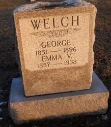 WELCH, EMMA V - Pike County, Missouri | EMMA V WELCH - Missouri Gravestone Photos
