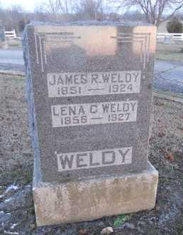 WELDY, JAMES ROBERT - Pike County, Missouri | JAMES ROBERT WELDY - Missouri Gravestone Photos