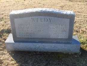WELDY, THOMAS - Pike County, Missouri | THOMAS WELDY - Missouri Gravestone Photos