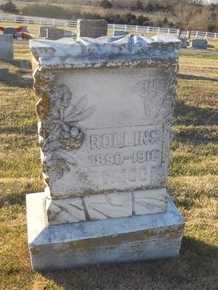 WOOD, ROLLINS - Pike County, Missouri | ROLLINS WOOD - Missouri Gravestone Photos