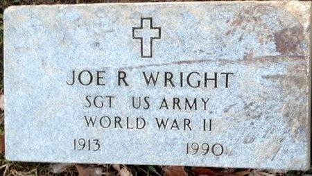WRIGHT, JOE R VETERAN - Pike County, Missouri | JOE R VETERAN WRIGHT - Missouri Gravestone Photos