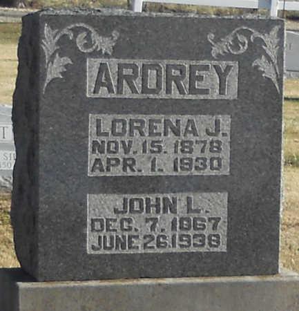 ROBINSON ARDREY, LORENA J - Pike County, Missouri | LORENA J ROBINSON ARDREY - Missouri Gravestone Photos
