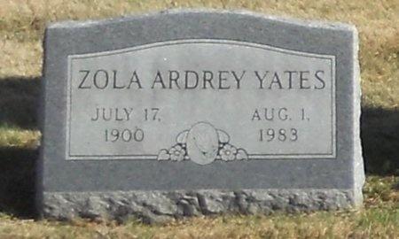 ARDREY YATES, ZOLA - Pike County, Missouri | ZOLA ARDREY YATES - Missouri Gravestone Photos