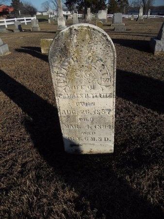 MERTS YEATER, LOTTIE - Pike County, Missouri | LOTTIE MERTS YEATER - Missouri Gravestone Photos