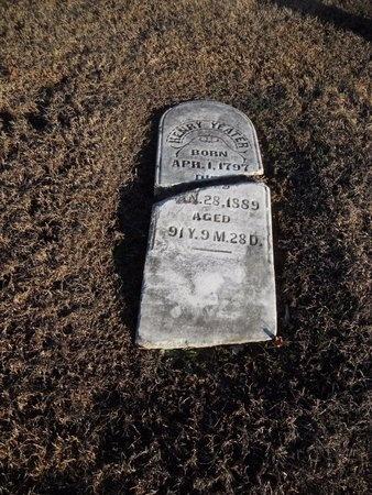 YEATER, HENRY - Pike County, Missouri   HENRY YEATER - Missouri Gravestone Photos