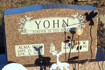 YOHN, ALMA MAE - Pike County, Missouri | ALMA MAE YOHN - Missouri Gravestone Photos