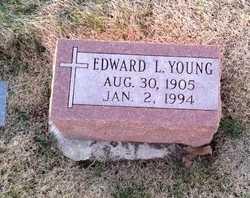 YOUNG, EDWARD LEROY - Pike County, Missouri   EDWARD LEROY YOUNG - Missouri Gravestone Photos