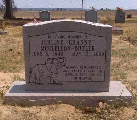 "BUTLER, JERLINE ""GRANNY"" - Scott County, Missouri   JERLINE ""GRANNY"" BUTLER - Missouri Gravestone Photos"