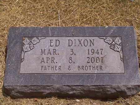 DIXON, ED - Scott County, Missouri | ED DIXON - Missouri Gravestone Photos