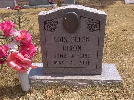 DIXON, LOIS ELLEN - Scott County, Missouri   LOIS ELLEN DIXON - Missouri Gravestone Photos