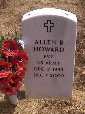 HOWARD (VETERAN), ALLEN B - Scott County, Missouri   ALLEN B HOWARD (VETERAN) - Missouri Gravestone Photos
