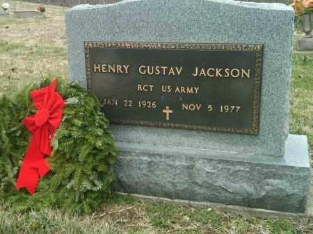 JACKSON (VETERAN), HENRY AGUSTIS - Scott County, Missouri | HENRY AGUSTIS JACKSON (VETERAN) - Missouri Gravestone Photos