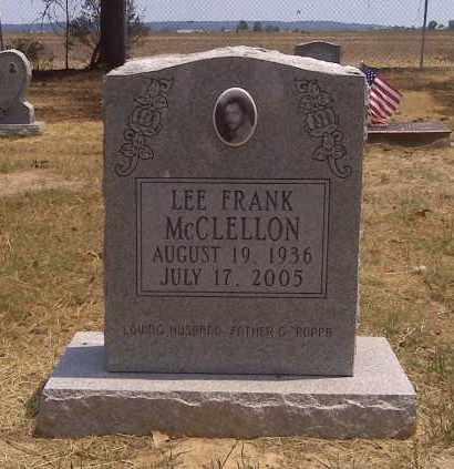 MCCLELLON, LEE FRANK - Scott County, Missouri | LEE FRANK MCCLELLON - Missouri Gravestone Photos