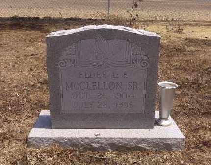MCCLELLON SR, ELDER L F - Scott County, Missouri | ELDER L F MCCLELLON SR - Missouri Gravestone Photos