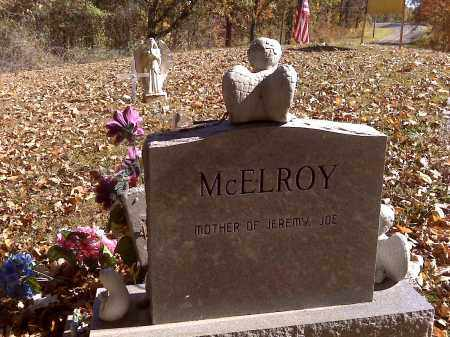 MCELROY, TINA D (BACK OF STONE) - Scott County, Missouri | TINA D (BACK OF STONE) MCELROY - Missouri Gravestone Photos