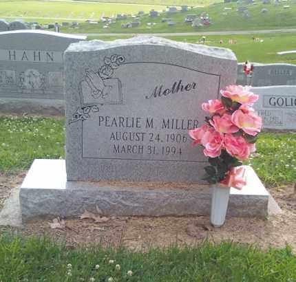 MILLER, PEARLIE M - Scott County, Missouri | PEARLIE M MILLER - Missouri Gravestone Photos