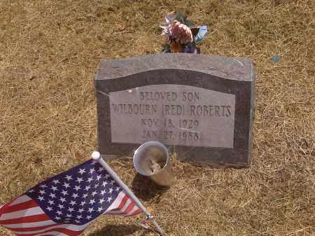 "ROBERTS, WILBOURN ""RED"" - Scott County, Missouri | WILBOURN ""RED"" ROBERTS - Missouri Gravestone Photos"