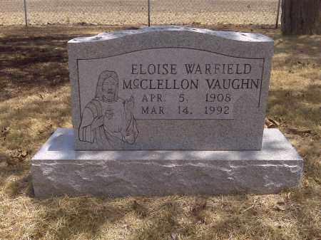 VAUGHN, ELOISE - Scott County, Missouri   ELOISE VAUGHN - Missouri Gravestone Photos