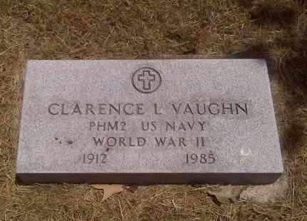 VAUGHN (VETERAN WWII), CLARENCE L - Scott County, Missouri | CLARENCE L VAUGHN (VETERAN WWII) - Missouri Gravestone Photos