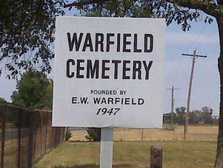 *WARFIELD, CEMETERY - Scott County, Missouri | CEMETERY *WARFIELD - Missouri Gravestone Photos
