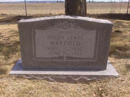 LEWIS WARFIELD, HELEN - Scott County, Missouri | HELEN LEWIS WARFIELD - Missouri Gravestone Photos