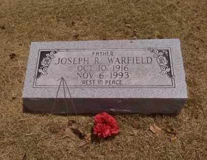 WARFIELD, JOSEPH R - Scott County, Missouri | JOSEPH R WARFIELD - Missouri Gravestone Photos