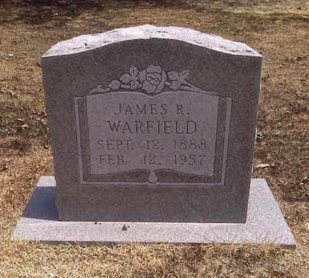 WARFIELD, JAMES R - Scott County, Missouri | JAMES R WARFIELD - Missouri Gravestone Photos