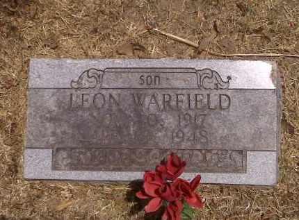 WARFIELD, LEON - Scott County, Missouri   LEON WARFIELD - Missouri Gravestone Photos