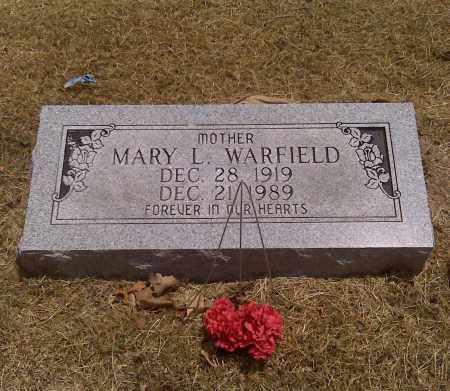 WARFIELD, MARY L - Scott County, Missouri | MARY L WARFIELD - Missouri Gravestone Photos