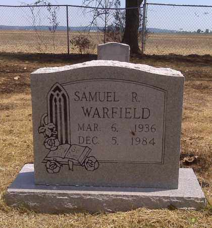 WARFIELD, SAMUEL R - Scott County, Missouri | SAMUEL R WARFIELD - Missouri Gravestone Photos