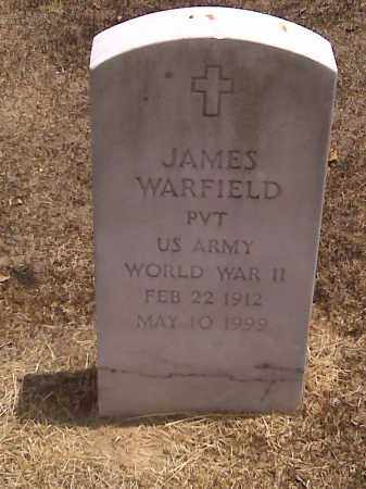 WARFIELD (VETERAN WWII), JAMES - Scott County, Missouri | JAMES WARFIELD (VETERAN WWII) - Missouri Gravestone Photos