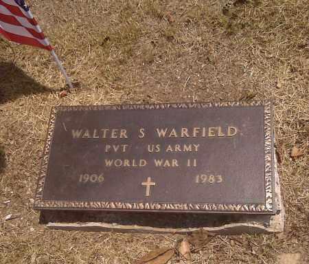 WARFIELD (VETERAN WWII), WALTER S - Scott County, Missouri | WALTER S WARFIELD (VETERAN WWII) - Missouri Gravestone Photos