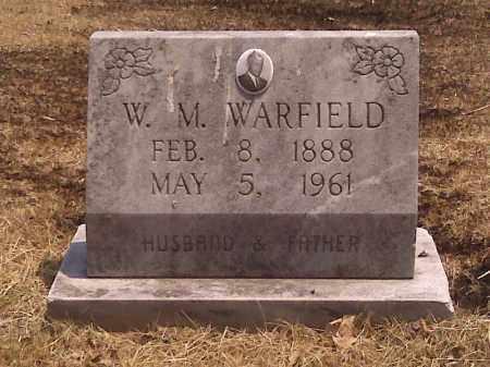 WARFIELD, W M - Scott County, Missouri | W M WARFIELD - Missouri Gravestone Photos