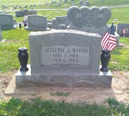 WOOD (VETERAN 3 WARS), JOSEPH JAMES - Scott County, Missouri | JOSEPH JAMES WOOD (VETERAN 3 WARS) - Missouri Gravestone Photos